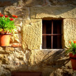 Stock Photo: Window Tuscany