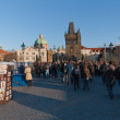 Stock Photo: Charles bridge,Prague