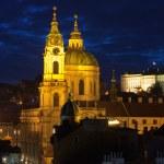 St.Nicholas cathedral in mala strana, Prague — Stock Photo #17416671