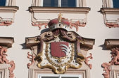 Architectural detail, Prague,Czech republich — Stock Photo