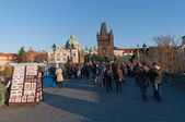 Charles bridge,Prague — Stock Photo