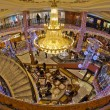 Shopping mall interior, Monaco France — Stok fotoğraf