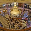 Shopping mall interior, Monaco France — Stock Photo