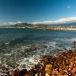 Mountains and harbour at Gordons Bay near Cape Town — Stock Photo #24227647
