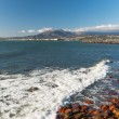 Mountains and harbour at Gordons Bay near Cape Town — Foto de stock #24227665