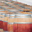 Stock Photo: Barrel of wine, Stellenbosch, Western Cape, South Afric