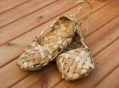 Zapatos de estopa — Foto de Stock
