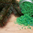 Foto de Stock  : Coniferous extract bath