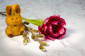 Easter bunnie — Stock Photo