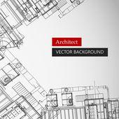 Fondo arquitectónico — Vector de stock