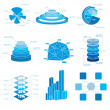 Big Vector set of Infographic elements - Image vectorielle