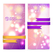 Abstract banners for design — Stock Vector