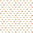 Horses seamless pattern. — Stock Vector #21333437