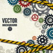 Industrial background — Image vectorielle