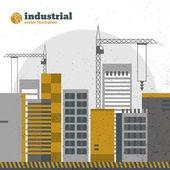 Industrial background — Stockvektor