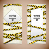 Industrial banners set — Stock Vector