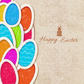 Happy easter background — Stock vektor
