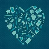 Lékařské vzdělání — Stock vektor