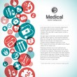 Royalty-Free Stock Vector Image: Medical background