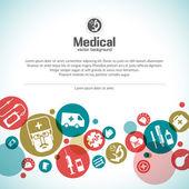 Formação médica — Vetorial Stock