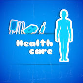 Medical concept text field — Stock Vector