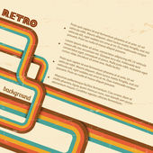 Retro background, vintage. — Stock Vector