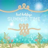 Summer background — Stock Vector