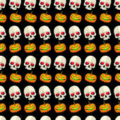 Halloween seamless pattern — Vettoriale Stock