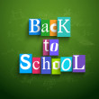 Back to school background — Stock Vector #29709449