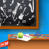 Chalkboard. — Stock Vector