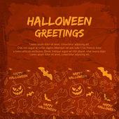 Happy Halloween background — Stock Vector