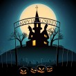 Happy Halloween background — Stockvectorbeeld