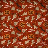Happy Halloween seamless pattern — Stock Vector