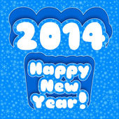 Happy New Year Card. Merry Christmas — Wektor stockowy