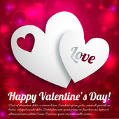 Valentine`s day background. Design concept — Stock vektor
