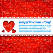 Valentine`s day background. Design concept — 图库矢量图片