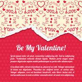 Valentine`s day background. Design concept — Vetorial Stock