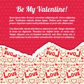 Valentine`s day background. Design concept — Stockvektor