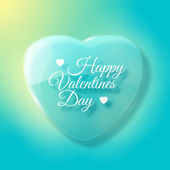 Valentine's Day Card. Design concept — Stock Vector
