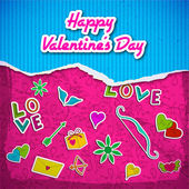 Valentine`s day background. Design concept — Wektor stockowy