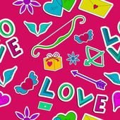Valentine`s day background. Design concept — Stockvector