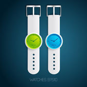 Watch design concept — Stockvector