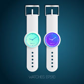 Watch design concept — Stock Vector
