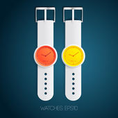 Watch design concept — Stock vektor