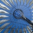 Roof of the Sony Center - Stock Photo