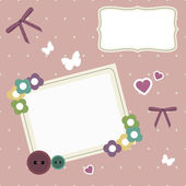 Vintage photo frame — Stock Vector