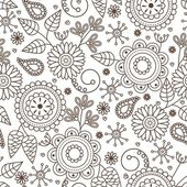 Cute seamless pattern — Stockvektor
