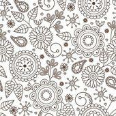 Lindo patrón sin costuras — Vector de stock