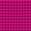 Volumetric texture of pink cubes — Stock Photo