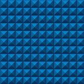 Volumetric texture of blue cubes — Stock Photo
